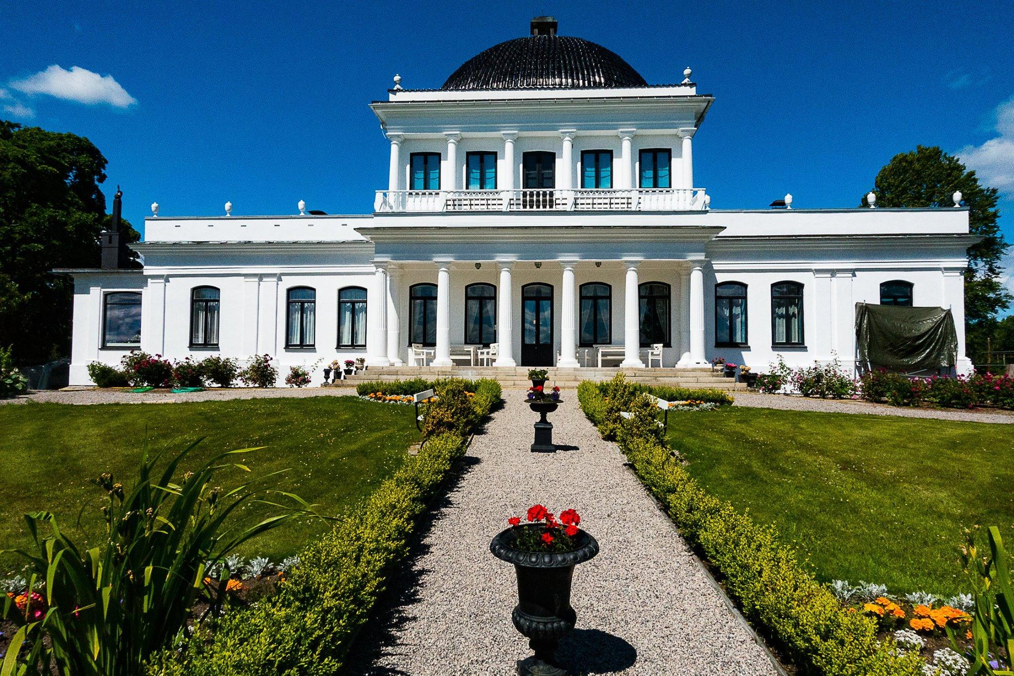Ulefos Hovedgaard - Turist i egen bygd