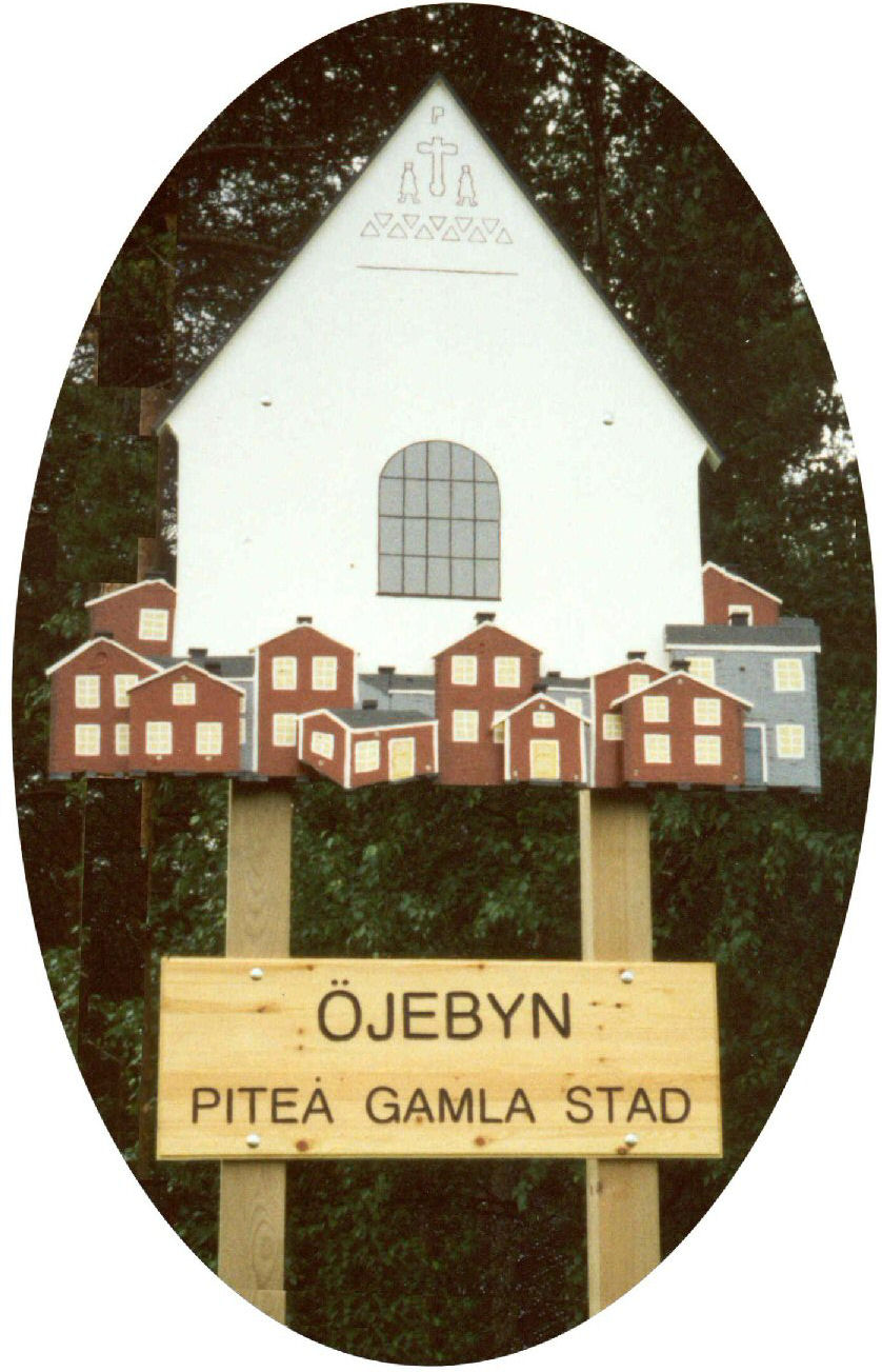 Öjebym - Piteå gamla stad