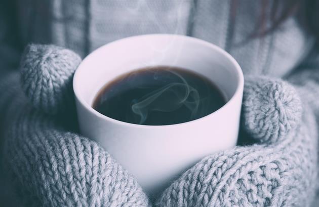 Vantar med varmt i koppen