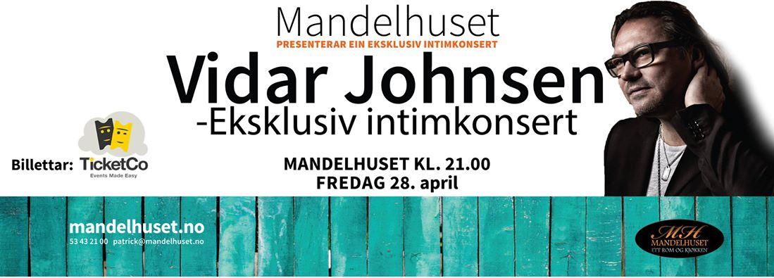 Vidar Johnsen - Intimkonsert