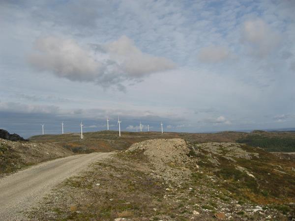 Sykkeltur på Hitra: Eldsfjellet og Hitra Vindpark
