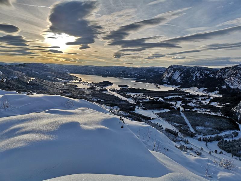 Vinter på Hegglandsnetten