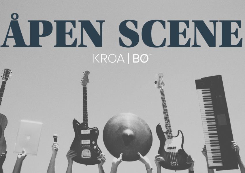 Åpen scene -Kroa i Bø