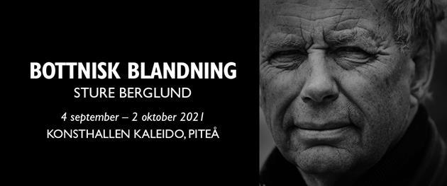 Affisch Bottnisk blandning med Sture Berglund