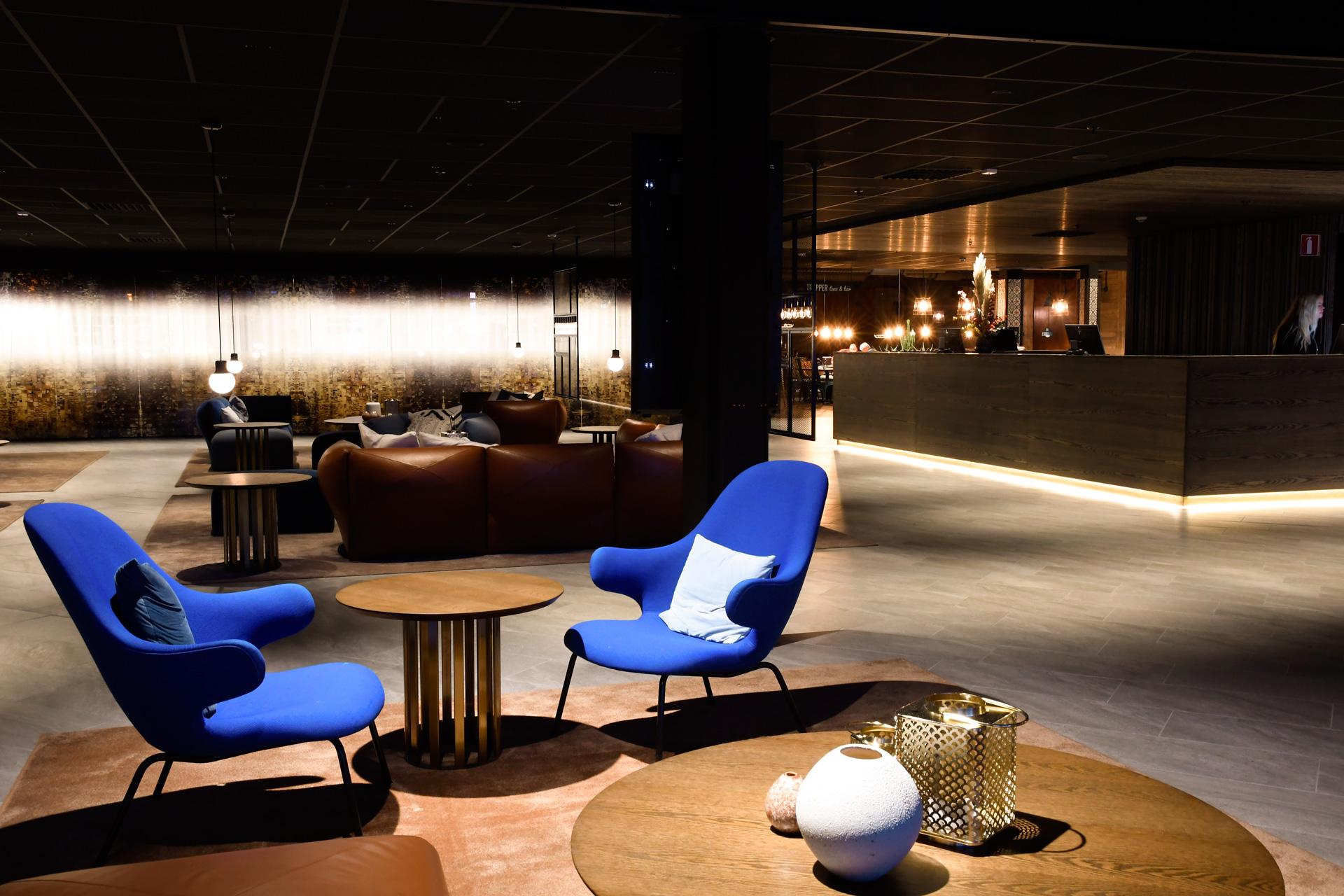 Lobby  och reception Pite Havsbad