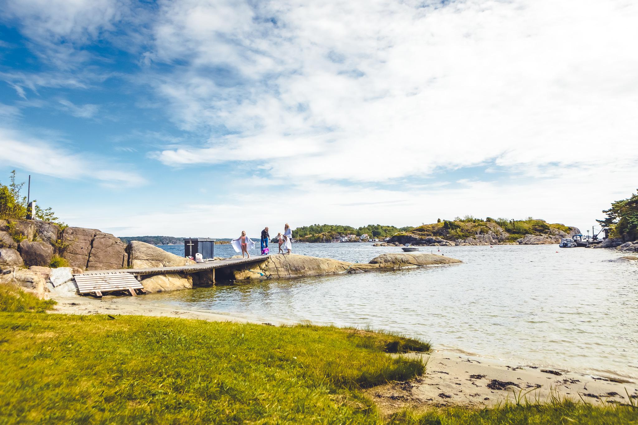 Mange vakre steder å besøke i skjærgården i Langesundsfjorden