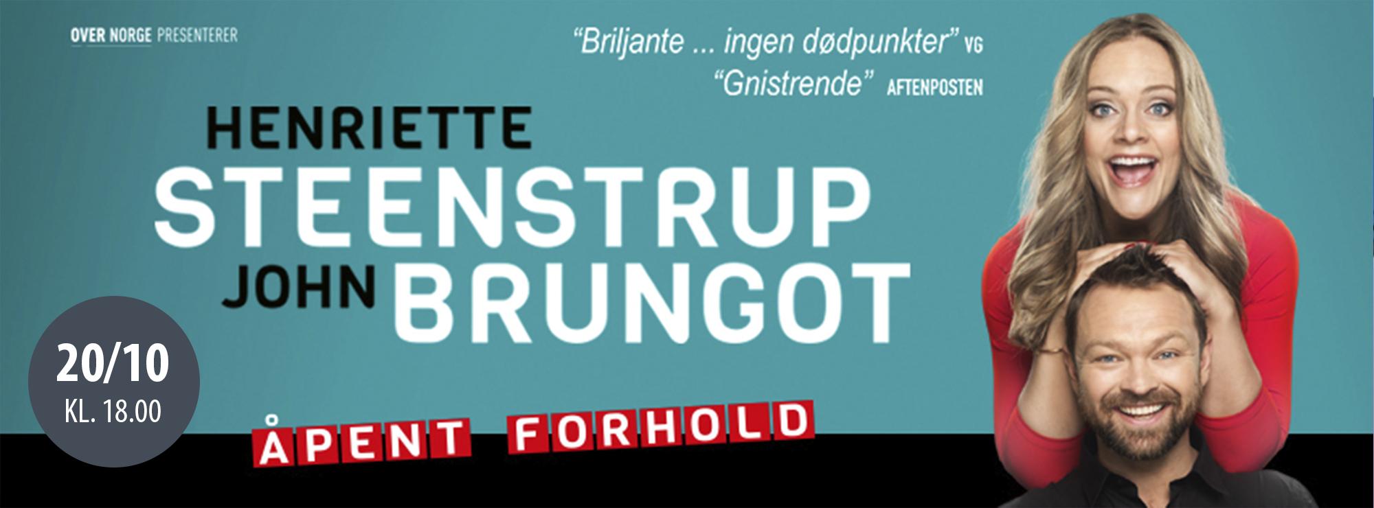Henriette Steenstrup & John Brungodt: Åpent Forhold