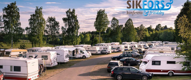 Sikfors Camping husvagnsrader