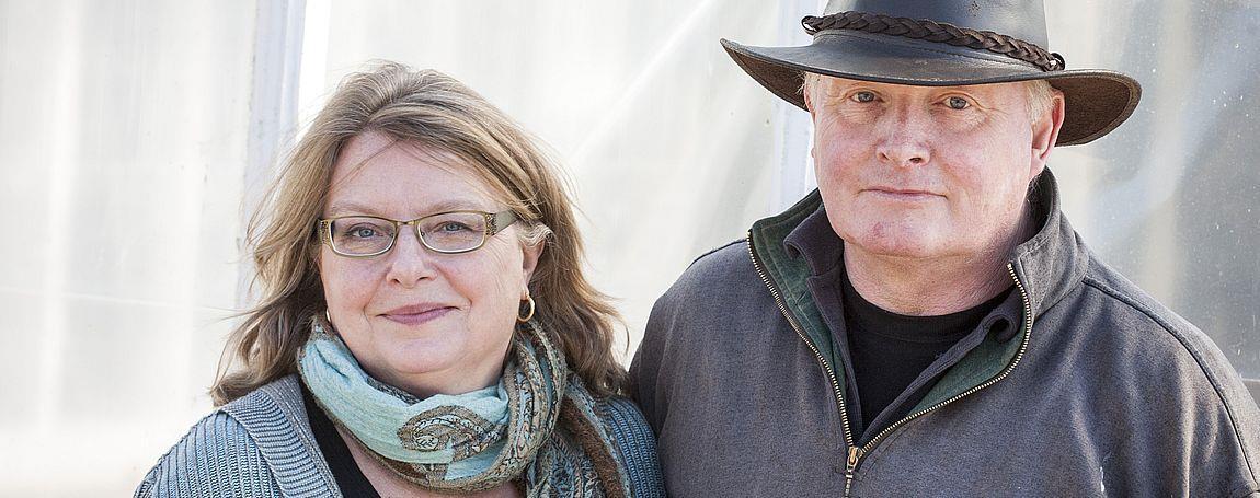 Vår långa odlargärning, Lena och Kjell Åberg