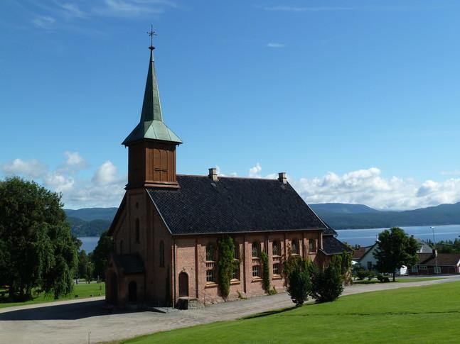Holla kirke, © Nome kommune