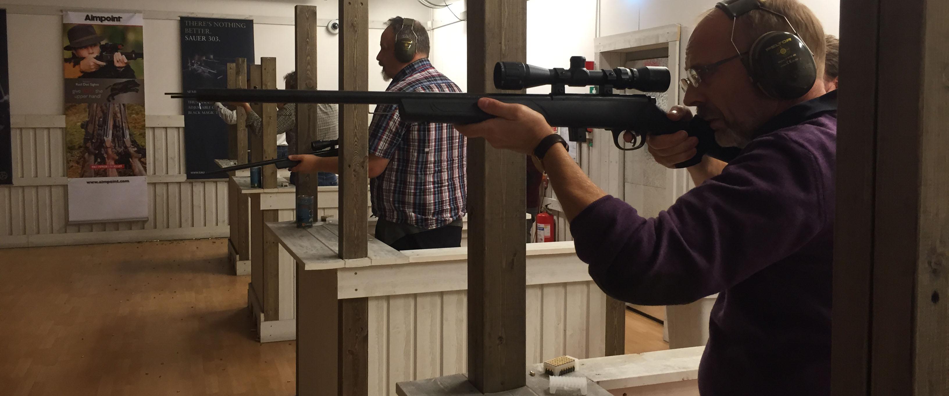 The shooting range cinema