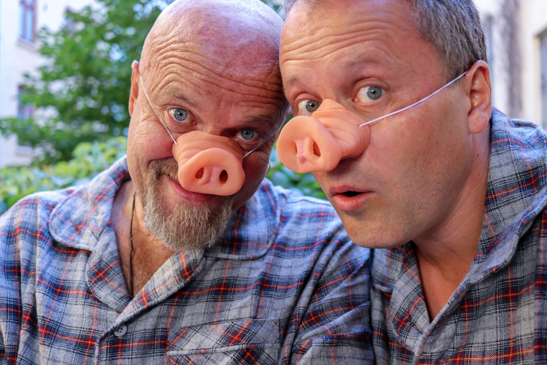 Roger Hilleren og Peder Opstad
