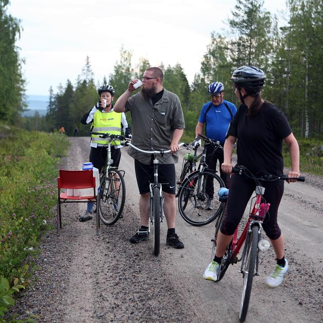 Cykeltrampen