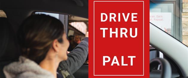 Drive thru med palt