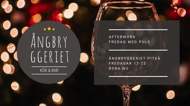 Afterwork at Ångbryggeriet