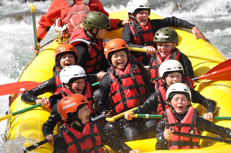 Rafting - Familietur