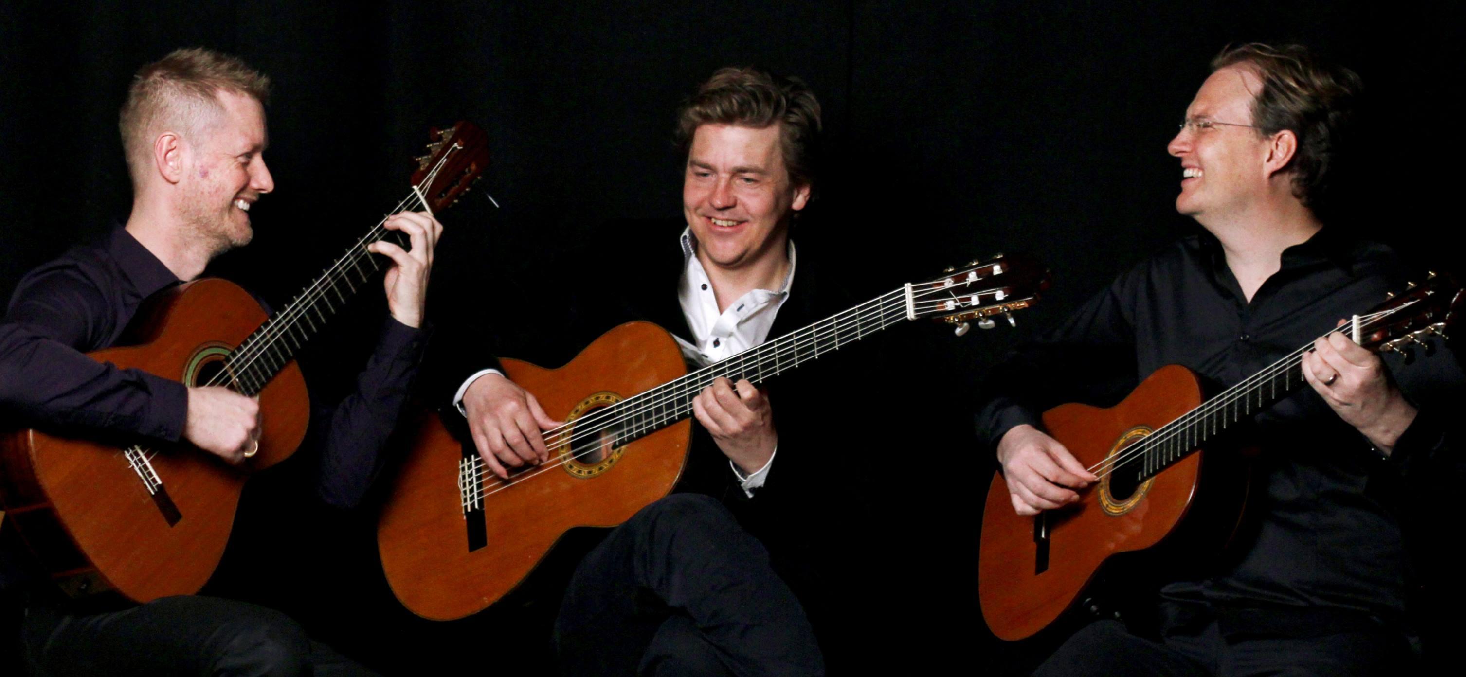 Bandmedlemmar Greger Hansson, Calle Ljungkvist, Niklas Johnson