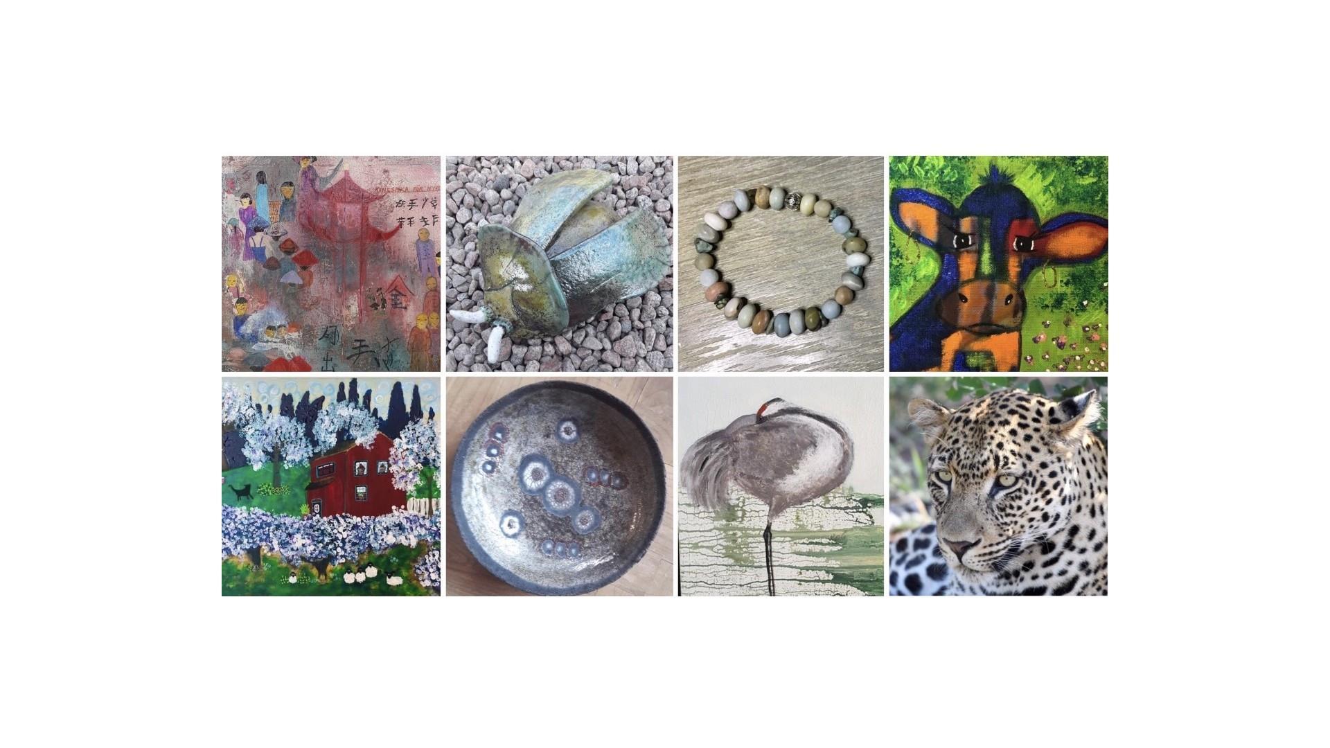 Digital utställning av konst och hantverk, Galleri ArtHur
