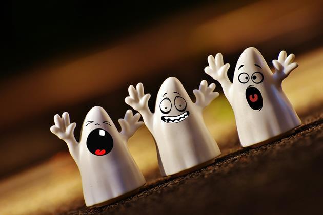 Spöken på rad