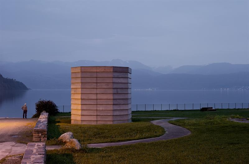 Hardanger Skyspace av James Turrell
