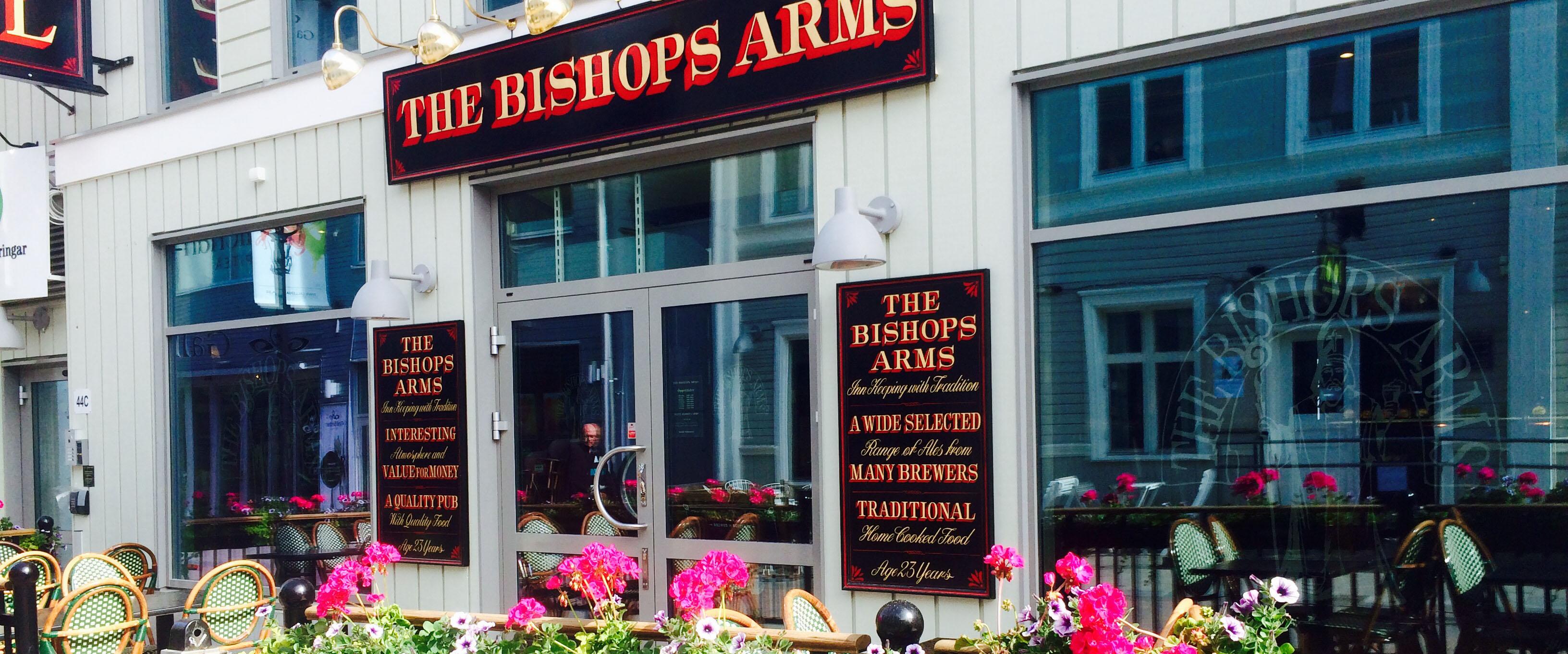 Bishop Arms Uteservering