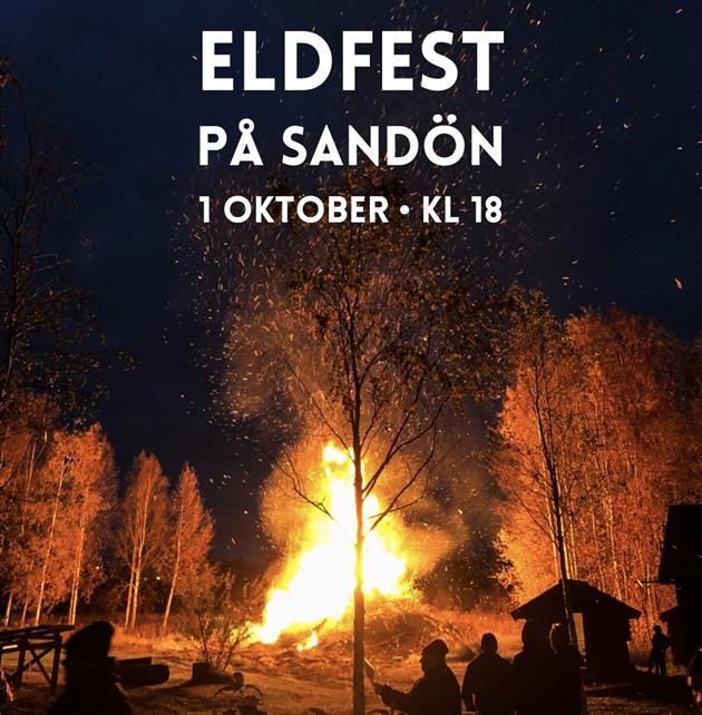 Välkomna till den årliga eldfesten på Sandön