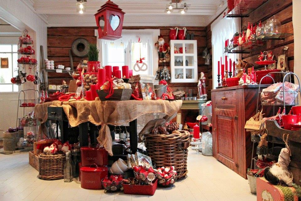 Julebutikken hos Inderøy Landhandleri