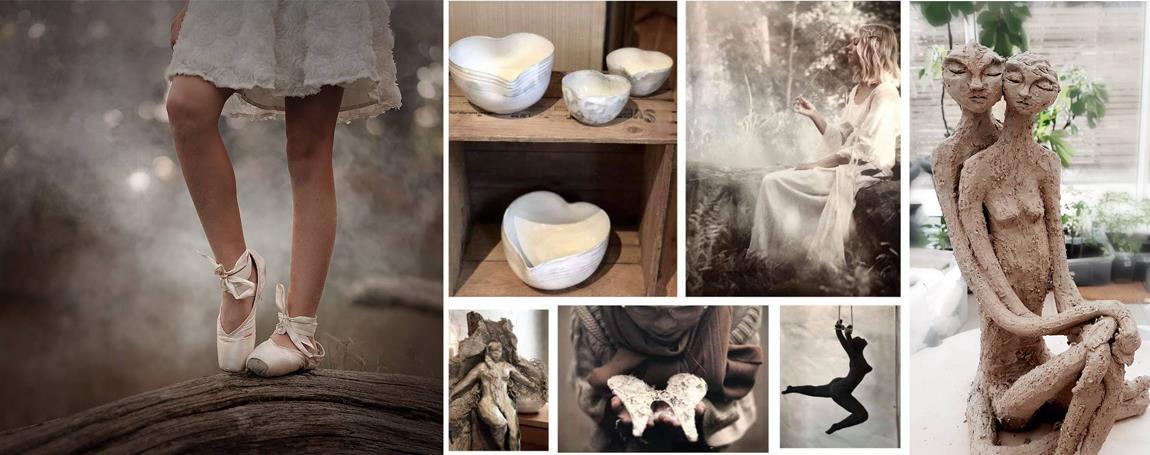 Keramiker Jill Gutenfelt och Fotograf Videline Weber