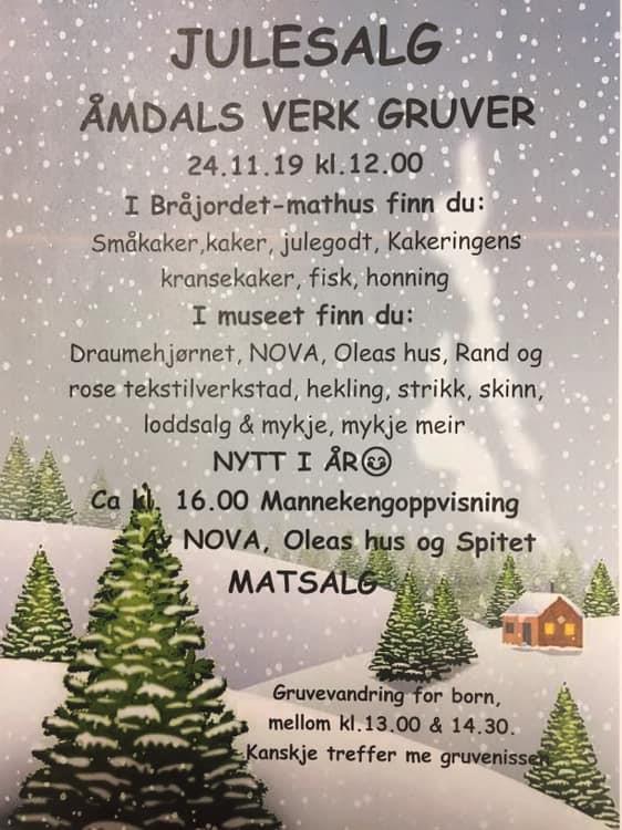 Jolemesse på Åmdals Verk Gruver - Vest-Telemark.no