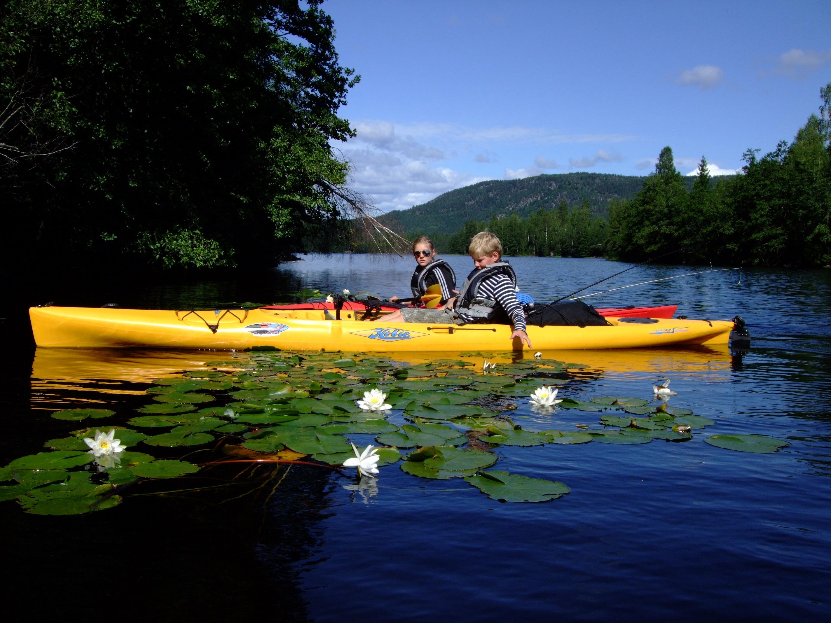Telemark Kanalcamping - Turist i egen bygd