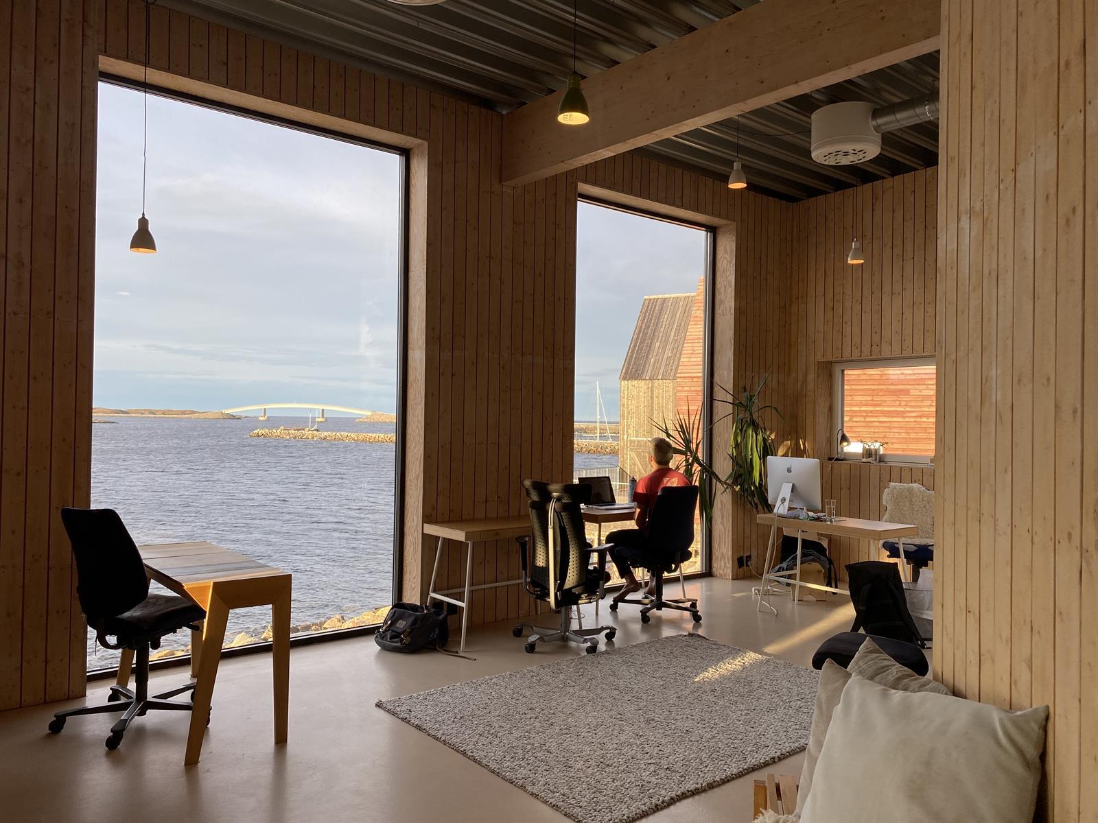 Workation på Stokkøya Strandhotell