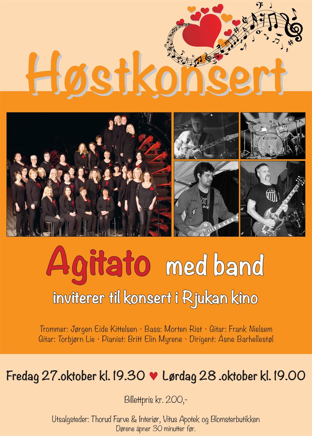 Høstkonsert med Agitato