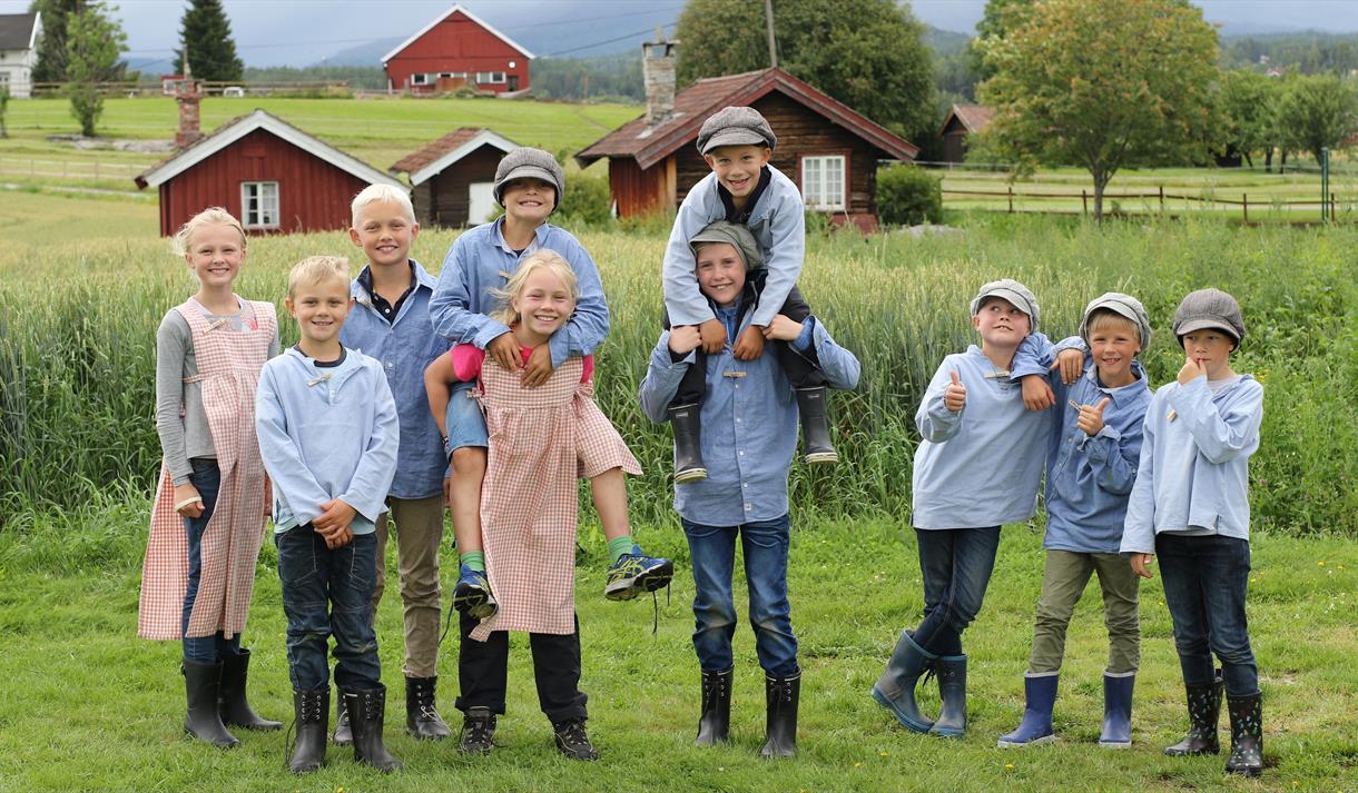 Sommarviku for barn 7-12 år, Evju Bygdetun