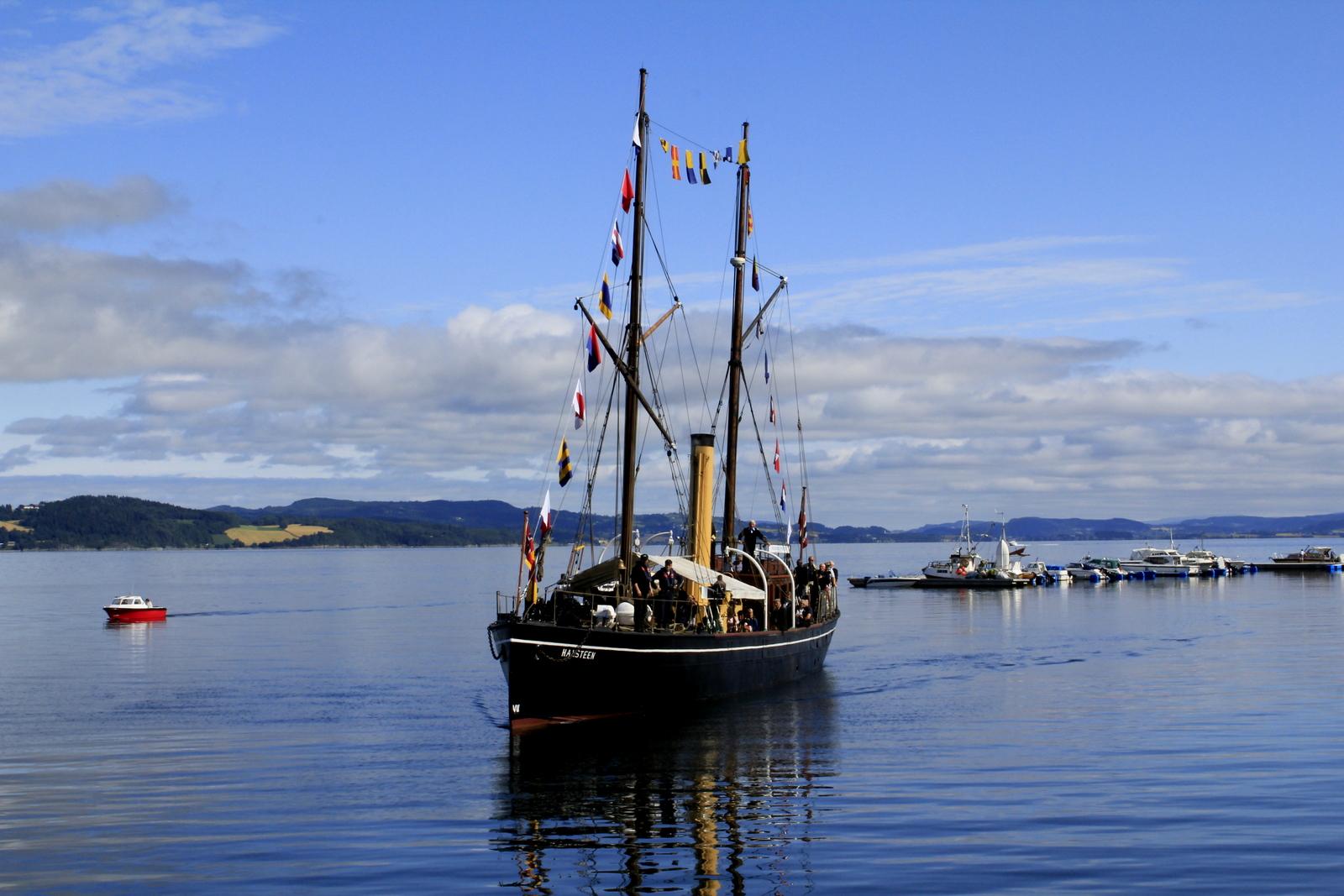 En eventyrlig seilas på Trondheimsfjorden med SDS Hansteen. Copyright: Visit Innherred