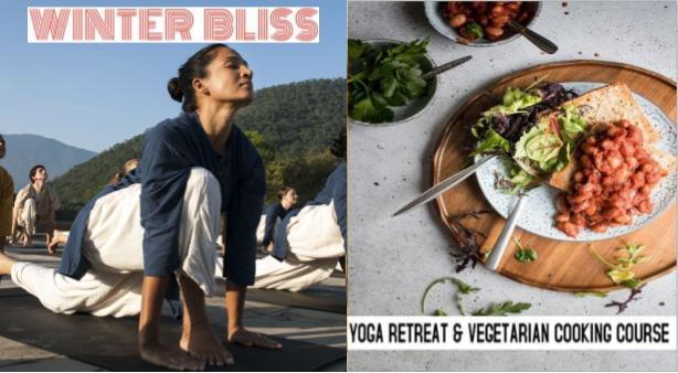 Yoga og vegetar matlaging, © Isha Foundation