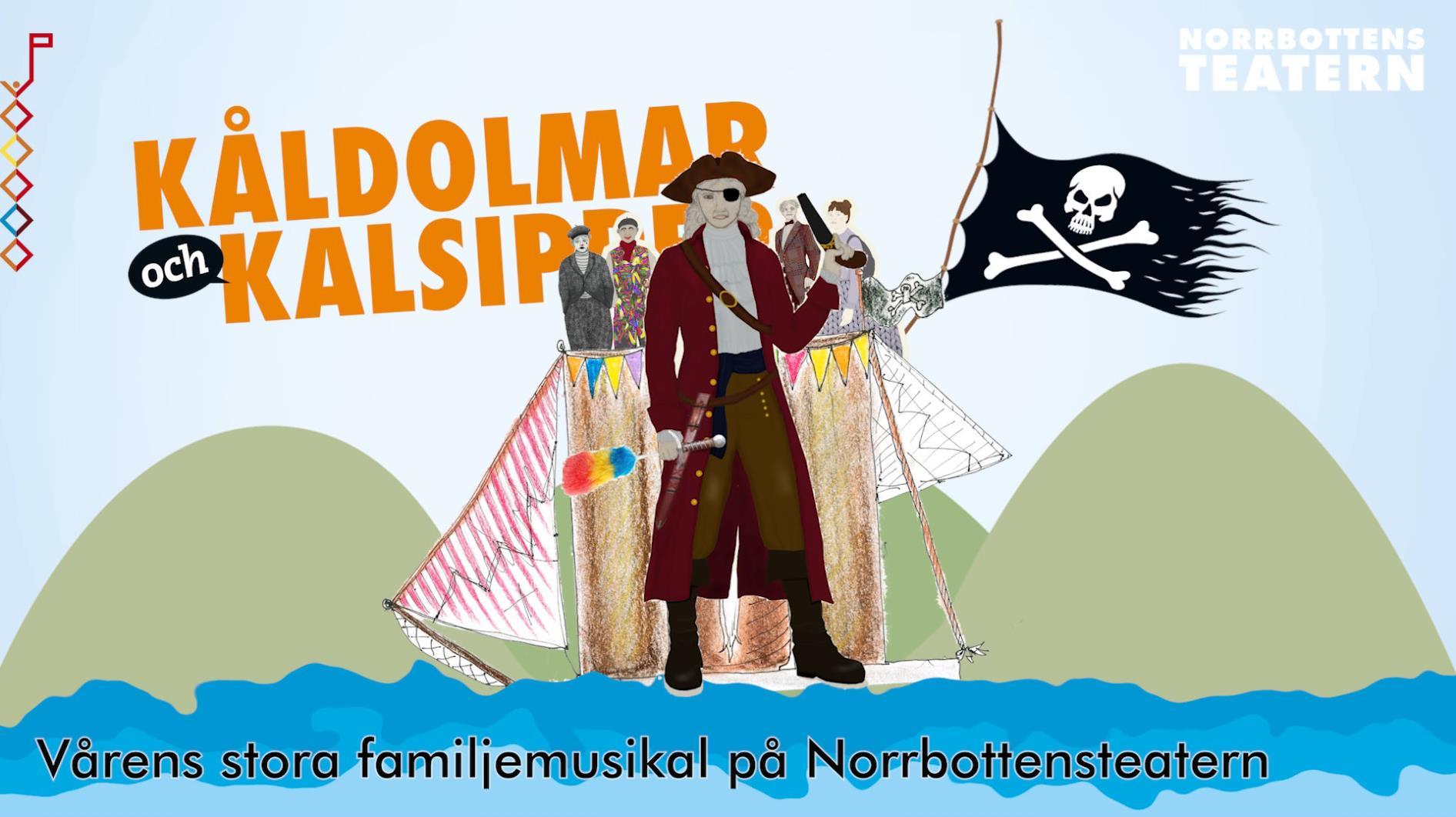 Kåldolmar och kalsipper - Norrbottensteatern 2019