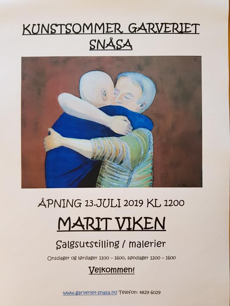 Kunstsommer i Garveriet i Snåsa