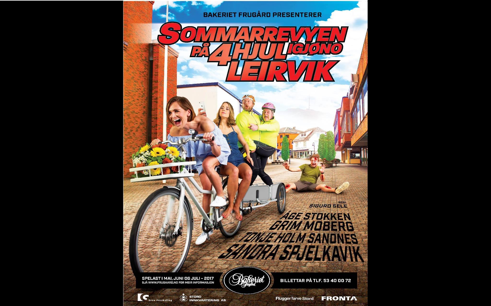 Sommarrevyen på 4 hjul igjøno Leirvik