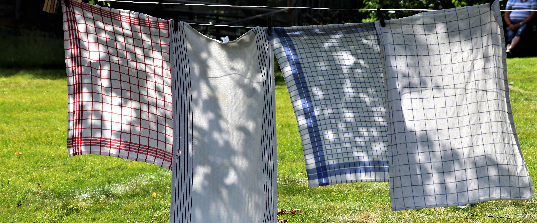 Textilier på tork