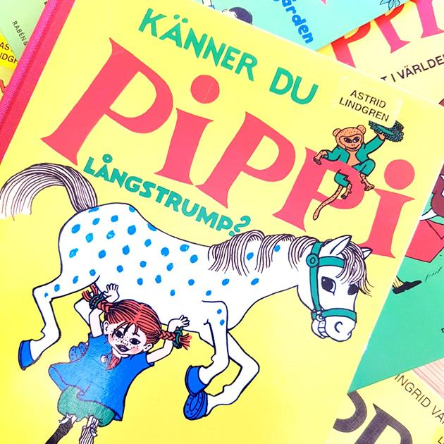 Books with Pippi Longstocking