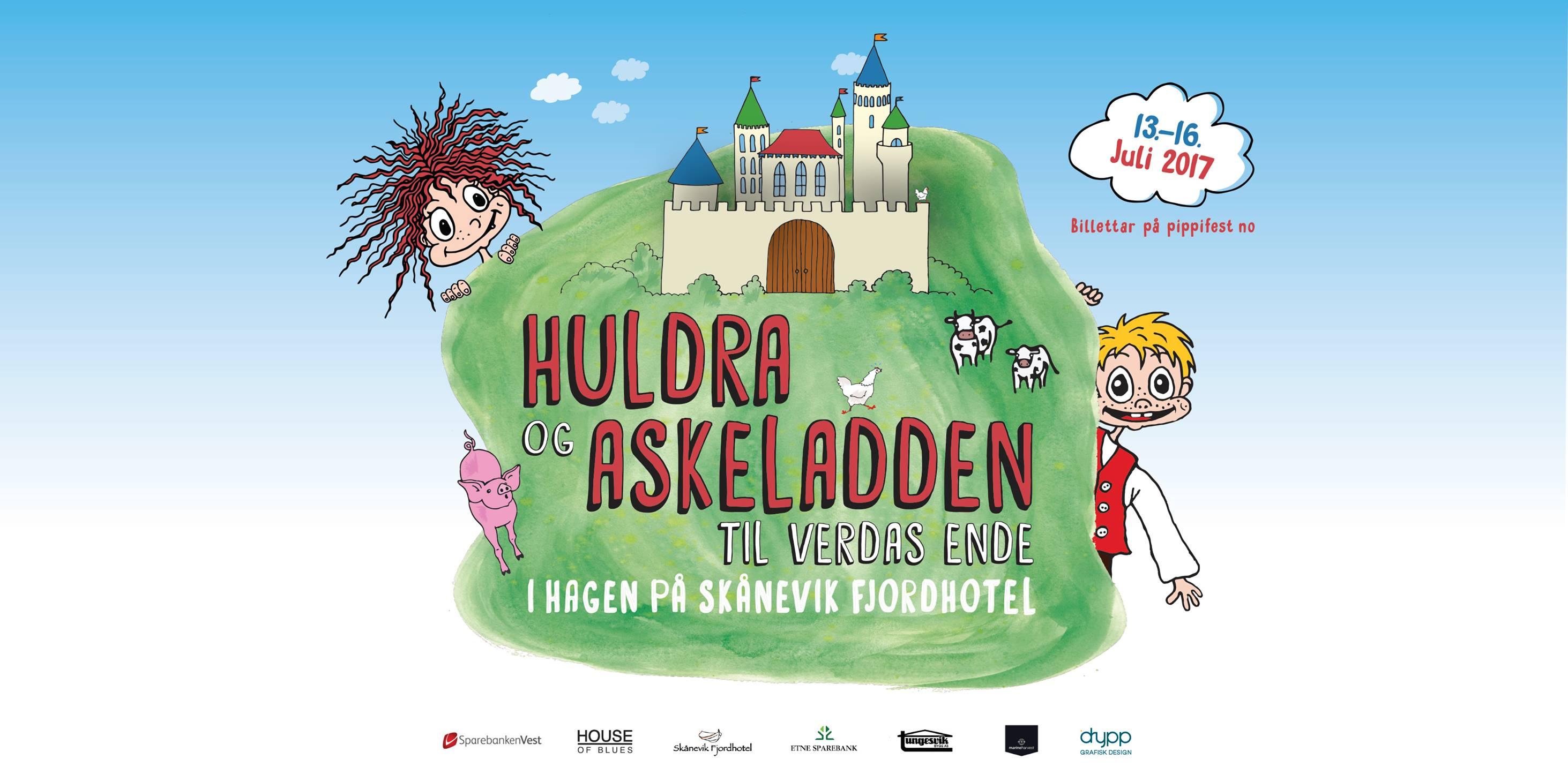 Pippifestivalen i Skånevik 2017
