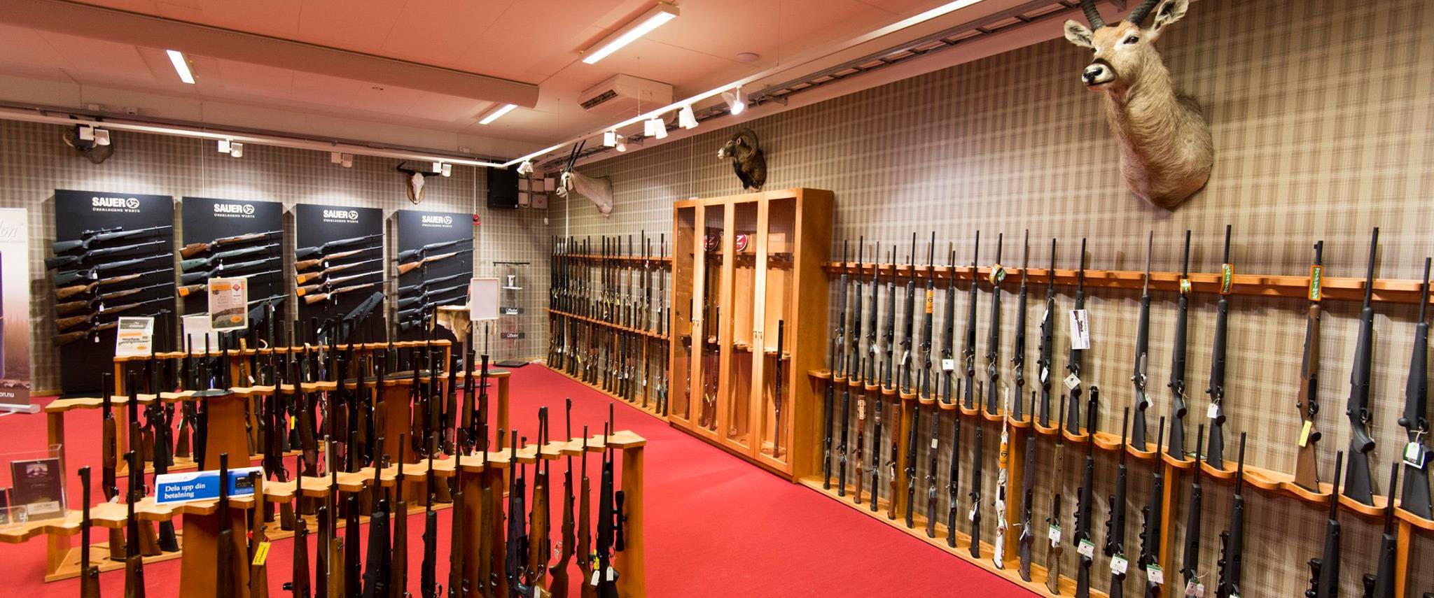 The gun section