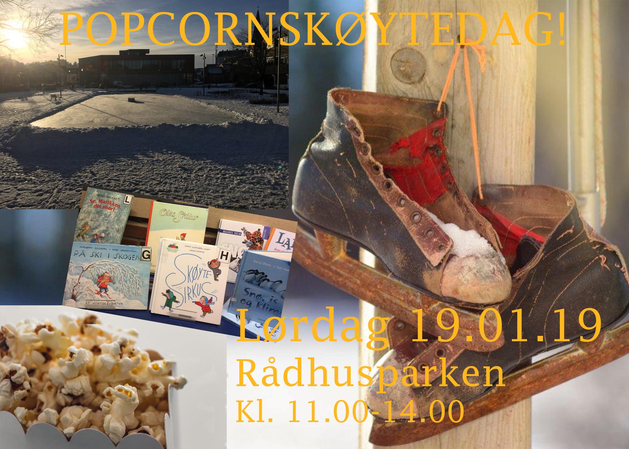 Popcornskøytedagen i Porsgrunn