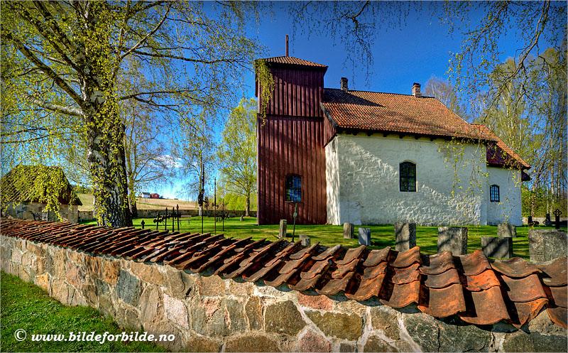 Romnes kirke, © Nome kommune
