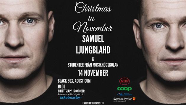 Affisch Samuel Ljungblahd