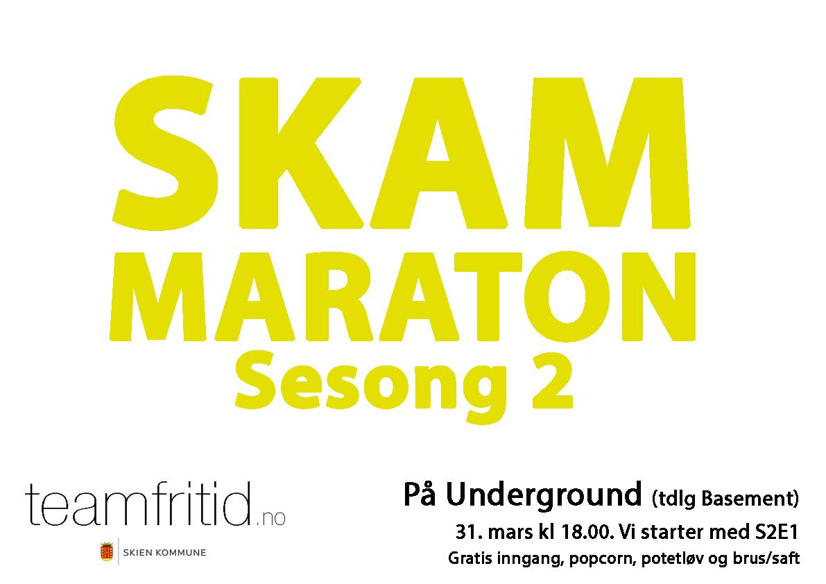 Skam S2 på Underground, © teamfritid