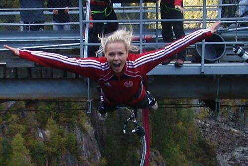 Norway's thoughest bungee jump, © Telemark Opplevelser
