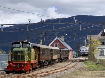 Togtur på Rjukanbanen