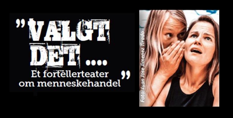 """Valgt det"" fortellerteater om mennesehandle, © Soroptimist Norway"